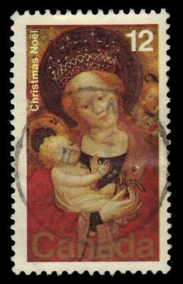 "CANADA 773 - Christmas ""Madonna of the Flowering Pea"" (pf57330)"