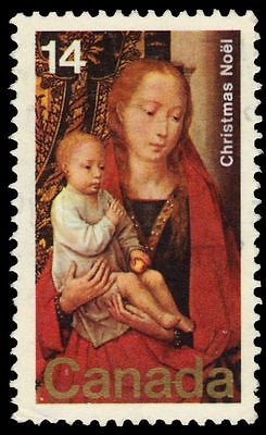 "CANADA 774 - Christmas ""Virgin and Child"" by Hans Memling (pf44158)"