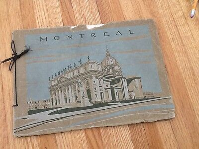 Early 20th century visitor guide book Montreal in Halftone 64 pages