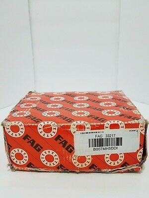FAG 33217 Tapered Roller Bearing Cone and Cup Set - New