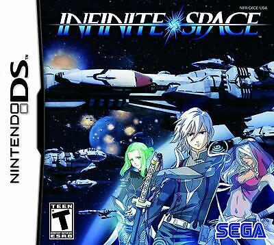 Infinite Space (Nintendo DS, 2010) GAME CARTRIDGE ONLY, GREAT SHAPE!