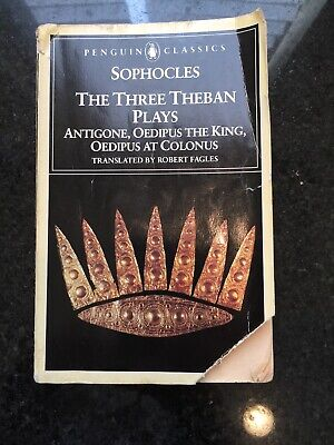 Penguin Classica Sophocles The Three Theban Plays Translated By Robert Fagles