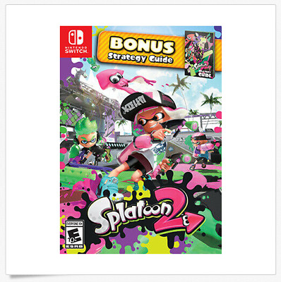 Splatoon 2: Starter Pack - Nintendo Switch *Case/Guide Only*