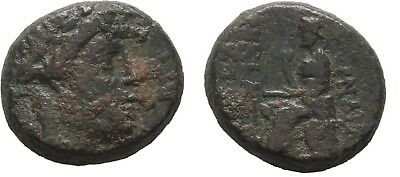 Ancient Greece 1 Cent BC IONIA SMYRNA APOLLO HOMER ILIAD POETRY