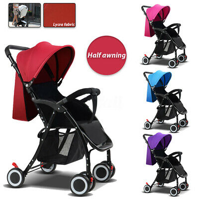 Foldable Baby Stroller Pram Pushchair Newborn Buggy Carriage Infant Travel