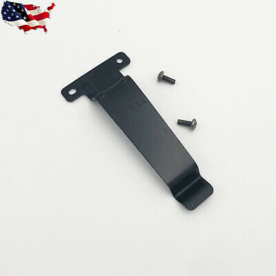 10Pcs Stainless Steel Metal Belt Clip for Kenwood Radio TK278//378//388//2107//3107