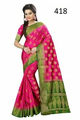 BOLLYWOOD DESIGNER SAREE PAKISTANI WEDDING SARI INDIAN ETHNIC DRESS Sr-660