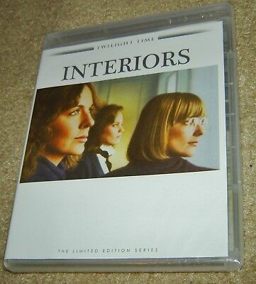 Interiors Limited Edition Twilight Time Blu-Ray, New And Sealed, Geraldine Page