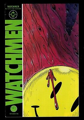 DC COMICS Watchmen Full run Bundle 1-12 1985 Dave gibbons VFN+ 8.5 N/mint Moore