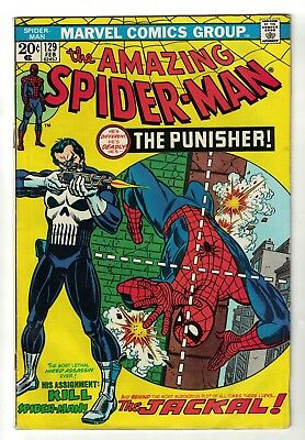 Marvel Comics Amazing Spiderman 129 1st appearance Punisher  5.0 VGF jackal