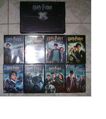Harry Potter L'integrale Coffret 8 Dvd