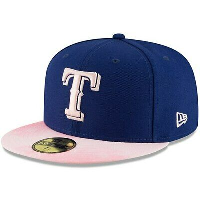 a5a400a0348b6f Texas Rangers New Era 2019 Mother's Day On-Field 59FIFTY Fitted Hat - Royal/