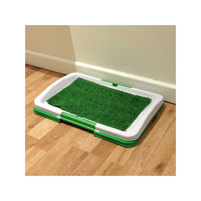Training Tray for Puppies With Grass Mat Puppy Toilet Small Pet Dog Potty Litter