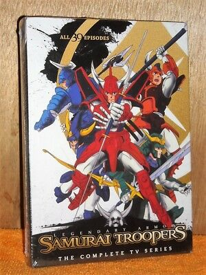 Samurai Troopers Complete Series (DVD, 2015, 5-Disc Set) NEW anime evil spirits