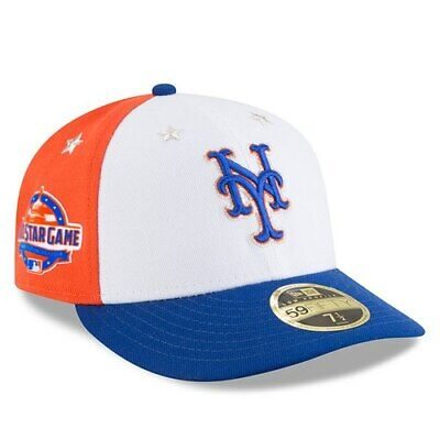 official photos beb0c 12394 New York Mets New Era 2018 MLB All-Star Game On-Field Low Profile