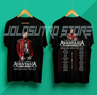 NEU  BEGRENZTE Tobias-Sammets-Avantasia-Moonglow-World-Tour-2019  T-SHIRT S-5XL