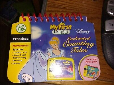 LeapFrog My First LeapPad Educational Book Disney Princess Enchanted Counting Tales