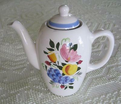 1958 Stangl Pottery Fruit and Flowers 8 Cup Coffee Pot