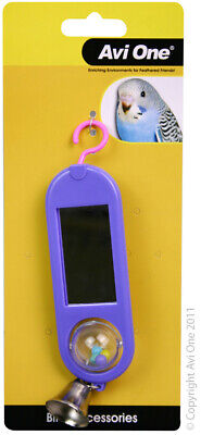 Bird Toy Double Sided Mirror with Tumbling Ball (Budgies,Canary and Finches)