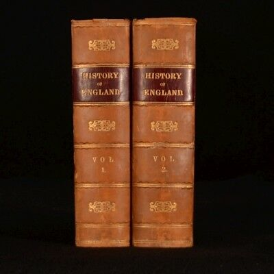 1825 2vol The History of England from The Revolution Tobias Smollett David Hume