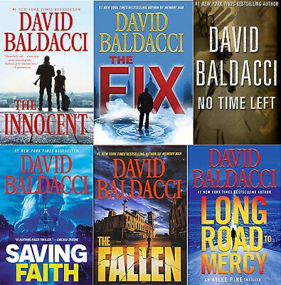 David Baldacci Kit - Long Road to Mercy + Fallen + Target + 38 Eb00ks  P.DF