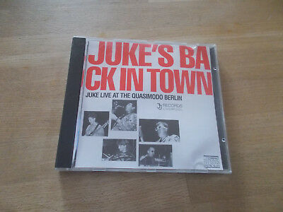 Juke´s back in town Live at the Quasimodo Berlin JJ Records CD Bluesrock Hamburg