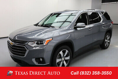 2018 Chevrolet Traverse LT Leather Texas Direct Auto 2018 LT Leather Used 3.6L V6 24V Automatic FWD SUV Bose OnStar