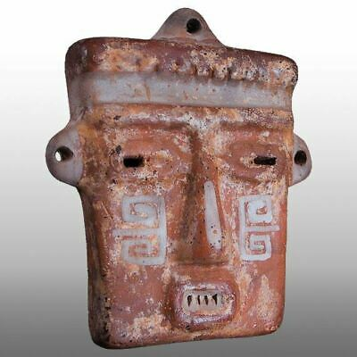 PRECOLUMBIAN RECTANGULAR MASK (S) Calima Colombia