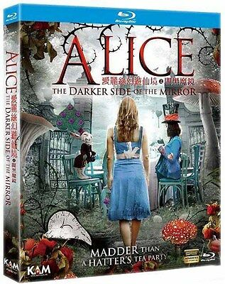 "Nathan Hamer ""Alice: The Darker Side Of The Mirror"" 2016 Fantas Region A Blu-Ray"