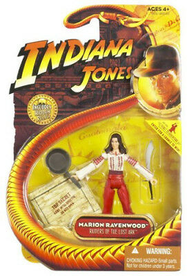 "Indiana Jones Raiders of the Lost Ark Indy Marion Raven  3.75"" Figure MOC HASBRO"