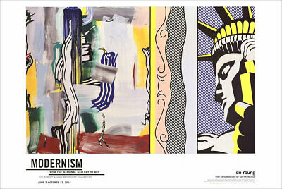Roy Lichtenstein Mirror # 5 Giclee Canvas Print Paintings Poster Reproduction Co