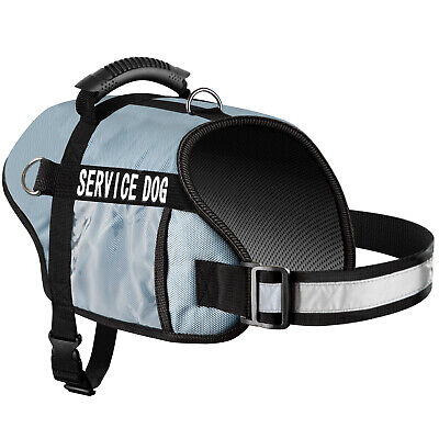 Service Dog Vest Harness for Medium and Large Dogs of All Breed with Grip Handle