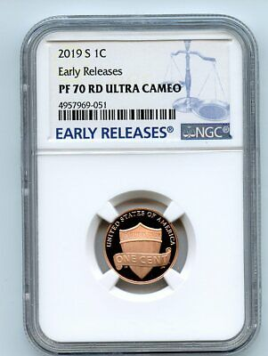 2019 S 1C Lincoln Cent NGC PF70UCAM Early Releases
