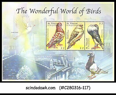 St. Vincent & The Grenadines - 2000 The Wonderful World Of Birds - Min/Sht Mnh