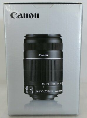 CANON EF-S 55-250mm f/4-5.6 IS STM TELEPHOTO ZOOM LENS - MPN#: 8546B002