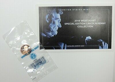 2019-W Limited Edition PROOF Lincoln Cent Unsorted Mint Fresh 1st West Point 1c
