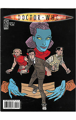 Science Fiction DOCTOR WHO  Issue 11 Published by IDW May 2010