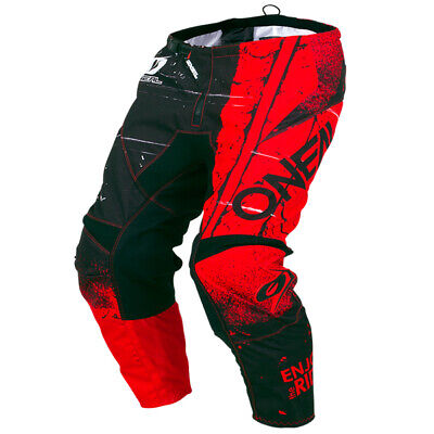 Oneal Element Shred Red Pants