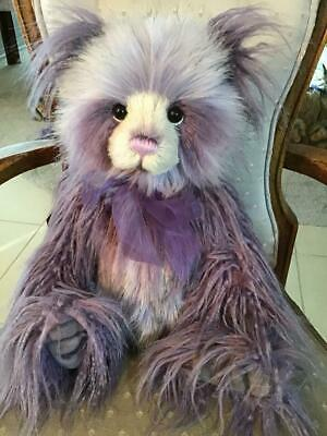 Charlie 2019 Plumo (Part Plush And Part Mohair) Year Bear