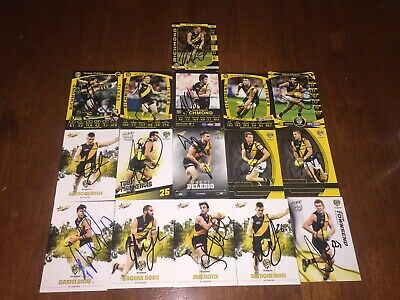 Afl Signed 2017 RICHMOND TIGERS TEAM SET Of 16 CARDS