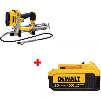 DeWalt DCGG571B 20V MAX Lithium Ion Grease Gun with FREE 4.0 Battery