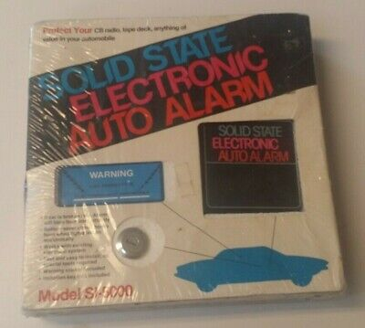 Nos Electronic Auto Alarm Vintage Accessory Car Custom Chevy Buick