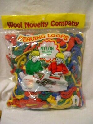 Wool Novelty 704 Cotton Blend Weaving Loops Assorted 10 oz
