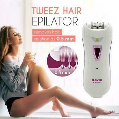 Tweez Hair Epilator - New Women Automatic Electric Facial Hair Remover Catcher L