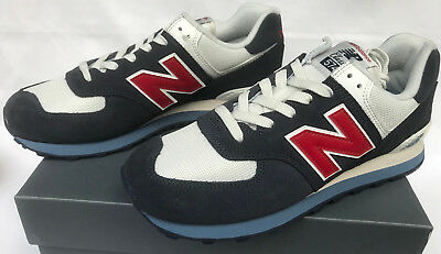 New Balance 574 Classic Core Plus Navy Red