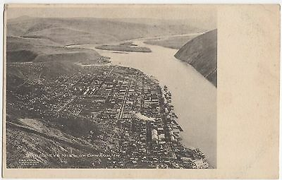 Canada, Birds Eye View of Dawson Vintage Postcard, U001