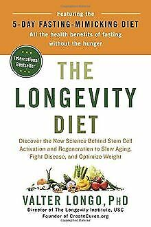 The Longevity Diet: Discover the New Science Behind Stem... | Buch | Zustand gut