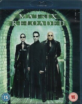 THE MATRIX RELOADED - Keanu Reeves, Laurence Fishburne - Blu-Ray