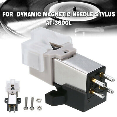 Dynamic Magnetic Metal Needle Stylus For AT-3600L Audio Technica Record Player