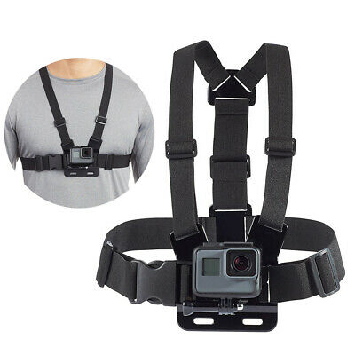 Adjustable Elastic Chest Strap Harness Mount for GoPro Camera HD Hero 5 4 3 US